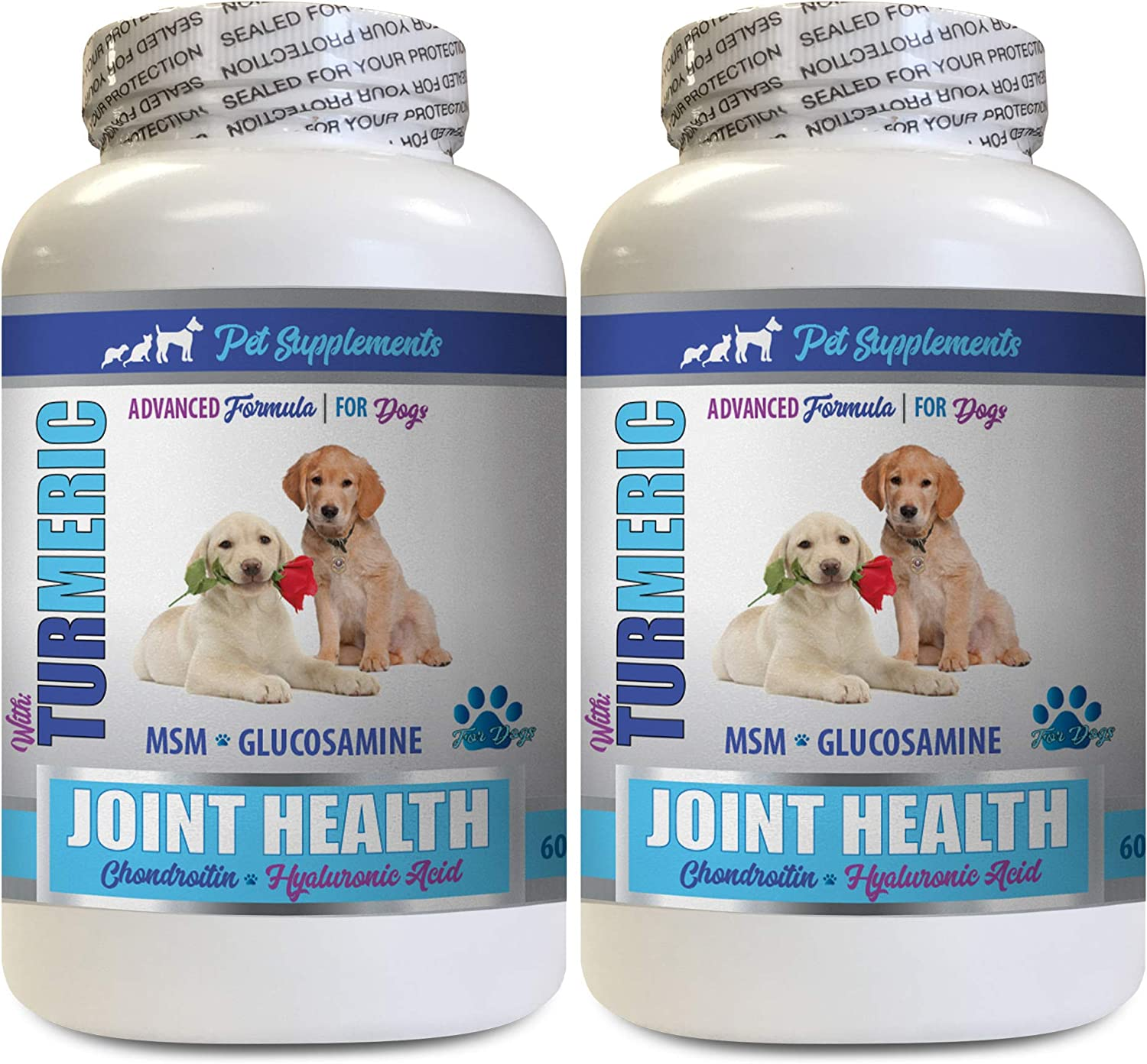 PET SUPPLEMENTS Dog Joint Hip - Health Max 83% Trust OFF Turmeric Supplement