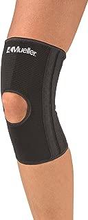 Mueller Sports Elastic Compression Open Patella Knee Stabilizer Brace SM XL