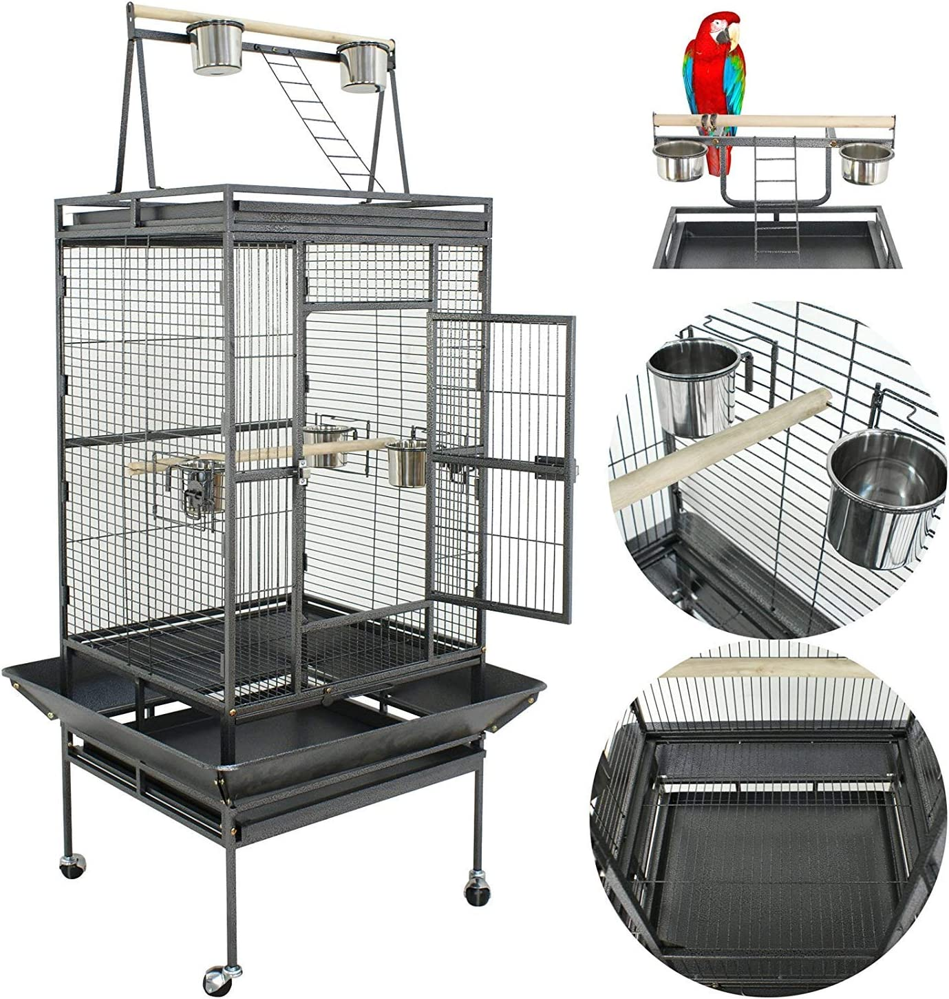 Nova Microdermabrasion 61 68 Inches Large Cage Top Bird Sales of SALE items from Discount mail order new works Par Play