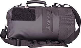 Amabilis Dave Jr Water Resistant, Heavy Duty Tactical Duffel Bag, 18 x 10 Inches - 23 Liters/1413 cu.in.
