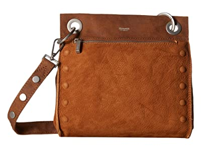Hammitt Tony Medium (Marin/Brushed Silver) Handbags