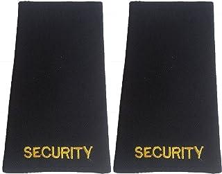 """Sicherheitsschulterklappen mit Goldstickerei, Aufschrift: """"Security"""", 1 Paar"""