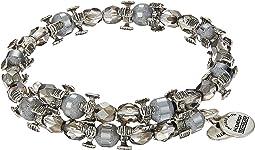 Alex and Ani - Splendor Wrap Moon Bracelet