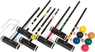 EastPoint Sports 6-Player Croquet Set – Features Deluxe Carry Case – Includes..