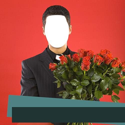 Romantische Männer Foto Editor
