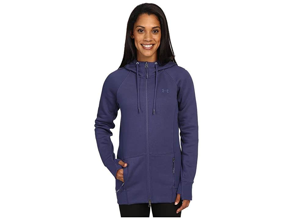 Under Armour UA Varsity Fleece Full Zip (Faded Ink/Faded Ink) Women