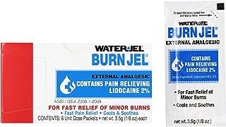 Waterjel 2421 Water-Jel Unit Dose Burn Gel, 3.5 gm Packet (Pack of 6)