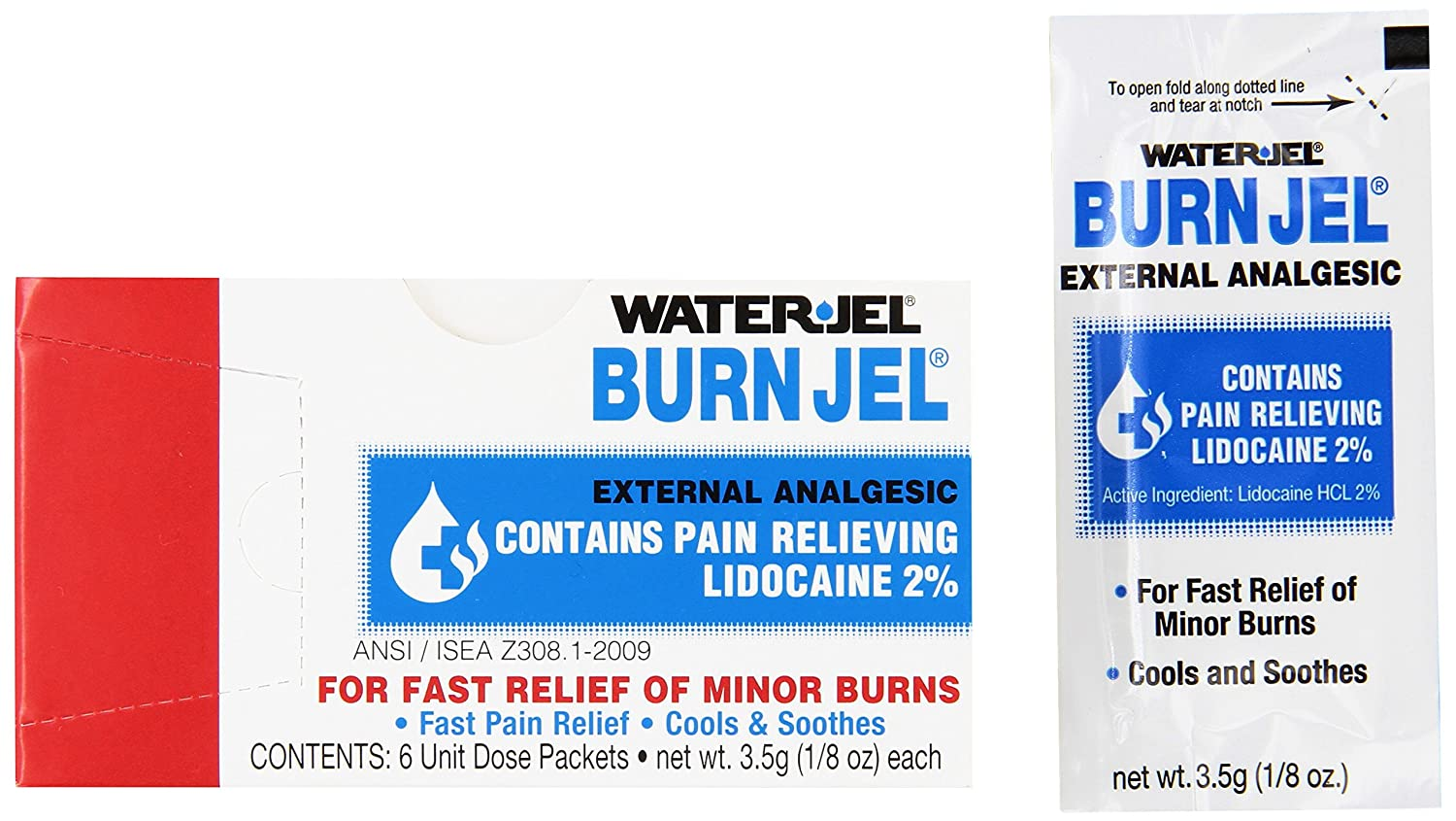 Water Jel 2421 Water-Jel Unit Dose gm Packet 3.5 Gel Burn Excellent Pack New products world's highest quality popular