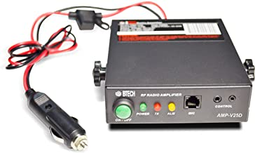 BTECH AMP-V25D Amplifier (Supports DMR) VHF (136-174MHz), 20-40W Output (2-6W Input), Analog and Digital Modes, Compatible with All Handheld Radios: BTECH, BaoFeng, Kenwood, Yaesu, ICOM, Motorola
