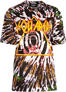 DSQUARED2 Luxury Fashion Womens S72GD0183S23567001S Multicolor T-Shirt | Fall Winter 19