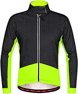 Thermal Fleece Winter Cycling Jackets Men Cycle Clothing Windproof Ropa Ciclismo Coat