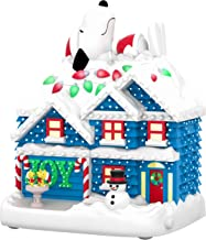 Keepsake The Peanuts Gang Snoopy The Merriest House in Town Musical Ornament with Light (Plays Linus and Lucy