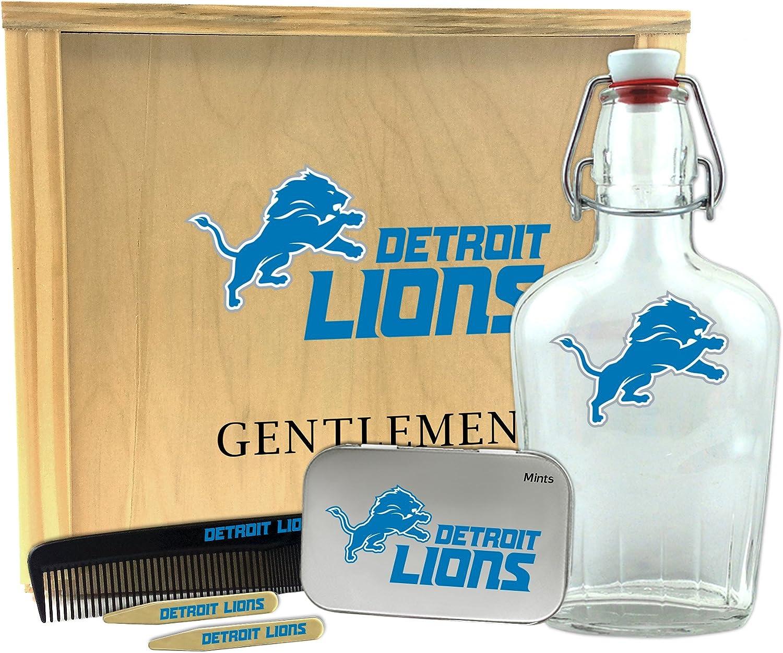 Worthy Promo NFL Baltimore Ravens Gentlemens Gift Box-Toiletry Edition 1-250 ml Glass Swing-Top Bottle 10 x 9 x 3.75