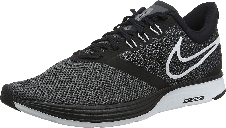 Nike Men's's Herren Laufschuh Zoom Strike Training shoes, (Black White-Dark Grey-Anthracite 001), 12 UK