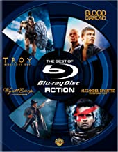 The Best of Blu -ray: Action (Troy Director's Cut / Blood Diamond / Wyatt Earp / Alexander Revisited The Final Cut)