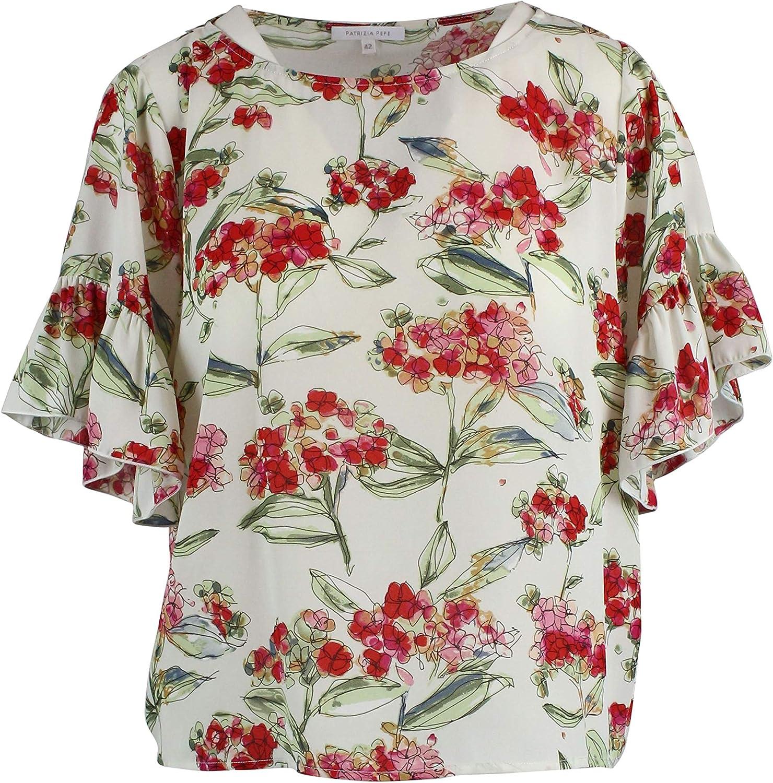Patrizia Pepe Women's 2C1128A3KMXT39 White Polyester Shirt