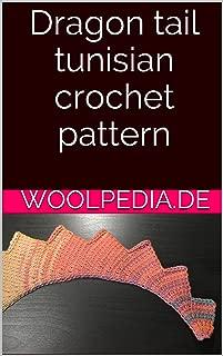 Dragon tail tunisian crochet pattern