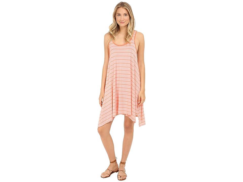 Volcom First Sail Tee Dress (Grapefruit) Women