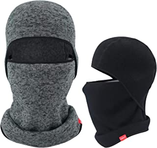 Balaclava-Ski Mask Knit Thicken Winter Warmer Windproof Cold Weather Face Mask