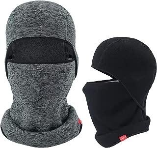 AIWOLU Balaclava-Ski Mask Knit Thicken Winter Warmer Windproof Cold Weather Face Mask