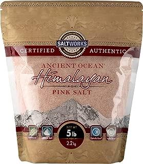 Ancient Ocean Himalayan Pink Salt, Fine, 5 Pound