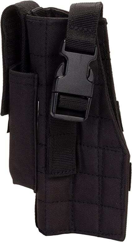 Hunting Airsoft Gun Pistol Holster Mag Pouch for Tactical Vest Molle Belt System