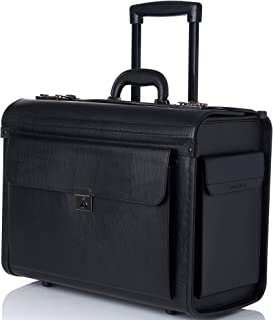 lawyer litigation rolling briefcase