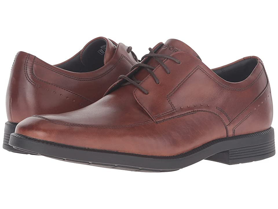 Rockport Dressports Business Apron Toe (New Brown) Men