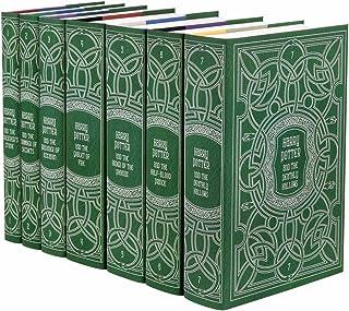 Juniper Books Harry Potter Slytherin House Trunk Set   Seven-Volume Hardcover Book Set with Custom Designed Dust Jackets  ...