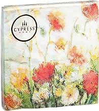 Cypress Home Fleurs Des Champs Paper Cocktail Napkin, 20 count