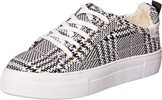 Jaggar Women's Nought Houndstooth Trainers, Black
