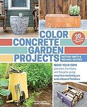 Best color concrete garden projects Reviews