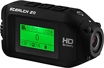 Stealth 2 Sports Action Camera by Drift   Action Shot Camera Includes Universal Clip for use as POV Camera or Helmet Camera