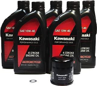 Kawasaki Ninja ZX-14 ZX-14R ZX1400 ZX14R ABS SE OEM Oil Change KAW08