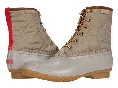 Sperry Saltwater Duck Nylon Boot (Taupe) Shoes