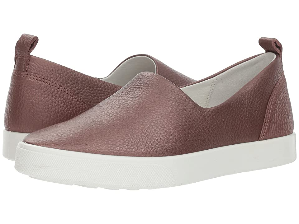 ECCO Gillian Slip-On (Deep Taupe/Bronze Java Nubuck) Women