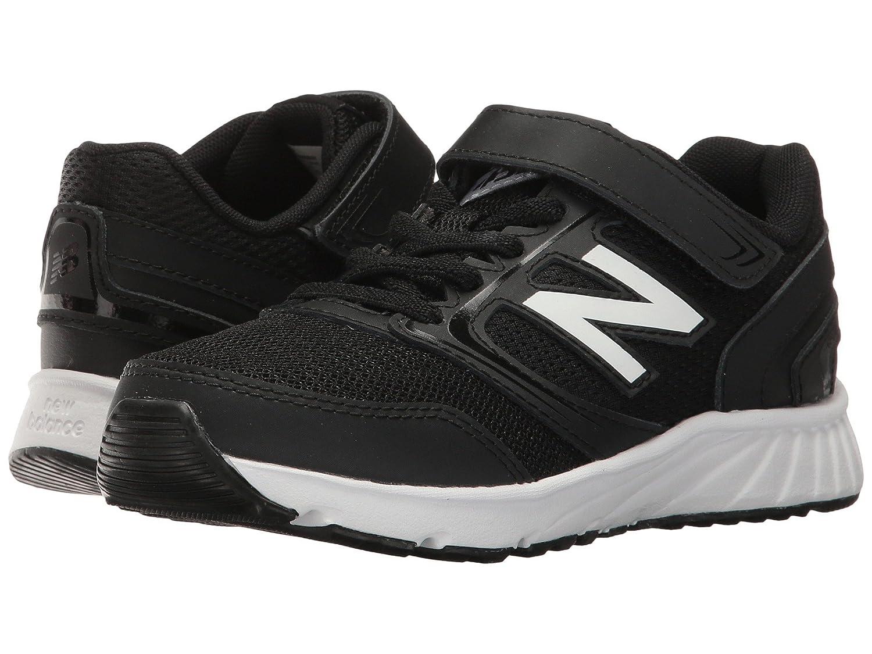 (ニューバランス) New Balance メンズランニングシューズ?スニーカー?靴 KA455v1 (Little Kid/Big Kid) Black/White ブラック/ホワイト 5.5 Big Kid (24cm) M