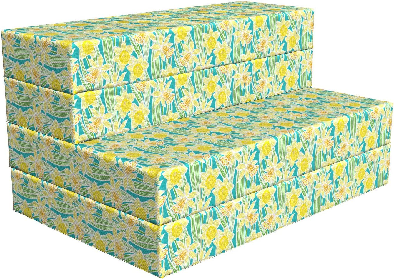 Import Lunarable Floral Foldable Mattress Foliage Trust Daffodils Blooming