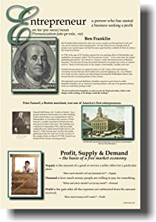 Entrepreneur Poster - Classroom Economics Poster