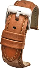 waterproof leather watch strap