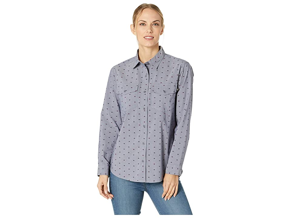United By Blue Highland Travel Shirt (Bison/Navy) Women