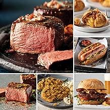 Omaha Steaks Premier Package (20-Piece with Filet Mignons, Top Sirloins, Steak Burgers, Jumbo Franks, Chicken-Fried Steaks and Individual Caramel Apple Tartlets)