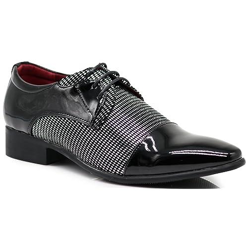 6c89c58ce3c8 NVK Men s Colonial Spectator Two Tone Cap Toe Oxfords Lace Up Dress Shoes