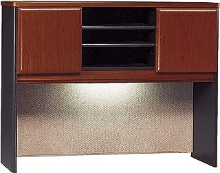 Bush Business Furniture Series A Collection 48W Hutch in Hansen Cherry/Galaxy