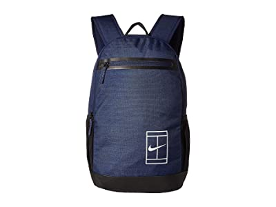 Nike Court Tennis Backpack (Midnight Navy/Black/White) Backpack Bags