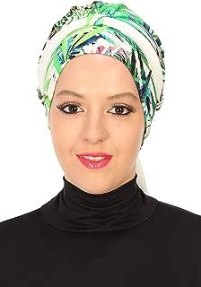 Bonnet for Women Instant Cotton Scarfs Chiffon Band Head Wrap Muslim Turban Cap