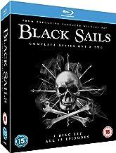 Black Sails Seasons 1 and 2 [Blu-ray] [Reino Unido]