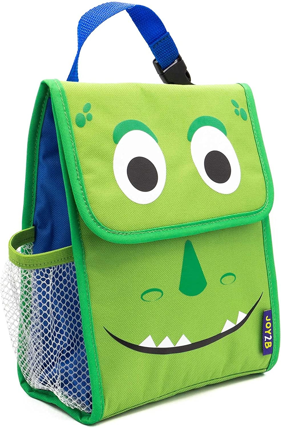 Joy2b Lunch Bag for Boys, Kids Lunch Bag for Hot & Cold Food, Reusable Snack Bags For Kids - Dinosaur Lunch Box Boys Lunch Bag fits Kids Lunch Box & Water-Bottle or Thermos - Daring Dino