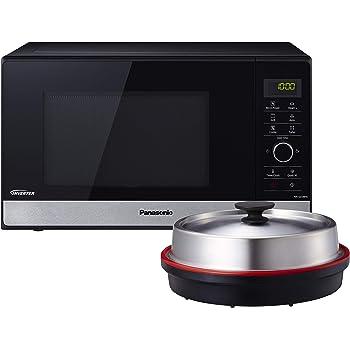 Panasonic NN-K121M Micro-ondes combin/é avec grill 800 W Argent/é 20 l