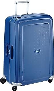 Samsonite S'Cure - Spinner L Valise, 75 cm, 102 L, Blue (Dark Blue)